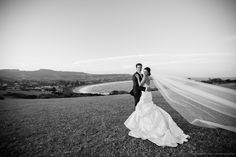 Nothing like a good 'veil streaming in the wind' shot!  See more at www.jonharris.photography/weddings