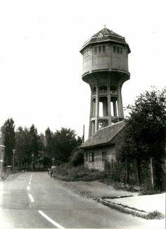 Pécs-meszesi víztorony az1960-as években Water Tower, Lighthouses, Towers, World, Homes, Tours, Lighthouse, The World, Light House