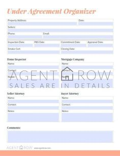 Get organized for real estate success with Agent Row!  | Forms, Planners &…James Baldi Somerset Powerhouse- Realtor Powerhouse Real Estate Network - Supreme Realty Pro's www.supremerealty... www.somersetpower... 508-642-5221 Real Estate Broker offering 100% commission in Massachusetts , Realtors in MA , Real estate Agent in MA , Real estate Companies in MA#realestate