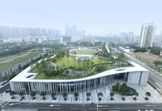 Image 7 of 43 from gallery of Victims of Nanjing Massacre Memorial Hall / Architectural Design & Research Institute of South China University of Technology. Photograph by Zhan Changheng - Ma Minghua Cultural Architecture, Green Architecture, Concept Architecture, Contemporary Architecture, Landscape Architecture, Architecture Design, India Architecture, Classical Architecture, Ancient Architecture