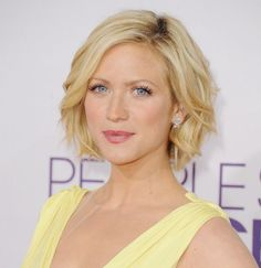 Impressive Short Hair Styles: since this is what my hair looks like now...I just gotta get it to tame down and look awesome like Brittany Snow's does here...