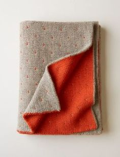 An doubly thick, twin-colored blanket that's sure to keep you toasty on the coldest of days.