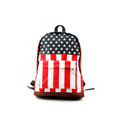 Proud country USA England Flag Bag school backpack carry on luggage travelling springsteen Rolling stones