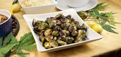 Balsamic Roasted Brussels Sprouts -- Cannabis Recipes - Powered by @cannnabischeri