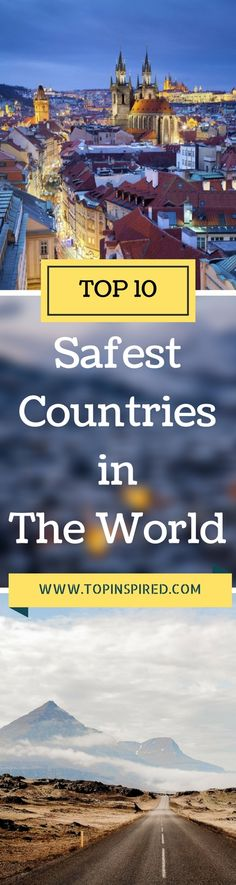 The most dangerous countries, at the bottom of the list are Syria, followed by South Sudan and Iraq. The US is not even close to the top, ranking 103rd between Guinea and Cambodia. Read on to find out which one is the world's safest country for the sixth year in a row.