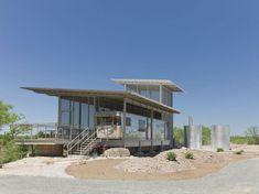 Last stop: Repurposed Locomotive Ranch Trailer House in Texas!