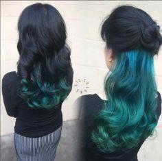 Joico Peacock Green Balayage Hair Pinterest Balayage