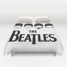 #The Beatles #duvet cover #rock band #king #queen #size