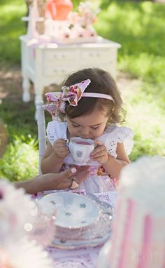 Little Ladies Tea Party - Sienna Rose Photography