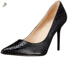 Pleaser CLAS20SP/BLE Women's Dress Pump, Black Snake Print Leather, 8 M US - Pleaser pumps for women (*Amazon Partner-Link)