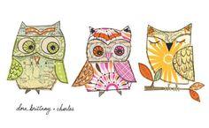 Adore her owls!