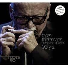 """TOOTS THIELEMANS: """" european quartet 90 years """" ( challenge records/ distrart) jazzman 643 p78 4*  personnel: toots thielemans (hca) karel boehlee (p) hein van de geyn (b) hans van oosterhout (dm)"""