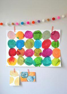 Pinturas y creatividades de sus hijos es excelente para reforzar el Sector Oeste de sus casas