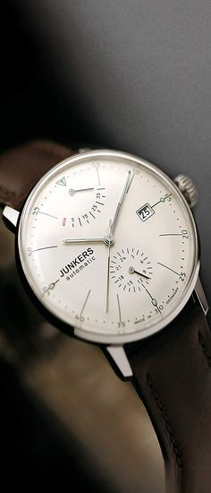JUNKERS - Men's Watches - Junkers Bauhaus - Ref. 6060-5 men watch, nice men's watches, best mens watches, watches for men, nice watches for men, mens watches popular, mens fashion watches, guy watches, best watches for men, styling watches #menswatch #watch #mensfashionwatch #mensfashion #fashion