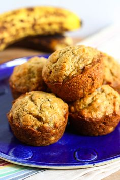 Coconut Banana Bread Muffins recipe from PBS Food