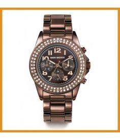 Reloj Mark Maddox Mujer color marrón con circonitas #reloj #relojes #markmaddox #marron #mujer #circonitas