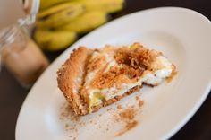 Receita de Torta de Banana com Marshmallow