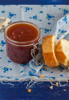 Receta 1071: Mermelada de tomates » 1080 Fotos de cocina Spanish Tapas, Spanish Food, Salsa Dulce, Home Canning, Liqueur, French Food, Canapes, Deli, Sweet Recipes
