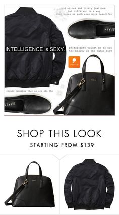 """""""# II/46 Popmap"""" by lucky-1990 ❤ liked on Polyvore featuring Furla, Ralph Lauren, women's clothing, women, female, woman, misses, juniors and popmap"""