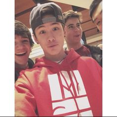 Aaron Carpenter, Carter Reynolds, and Nash Grier