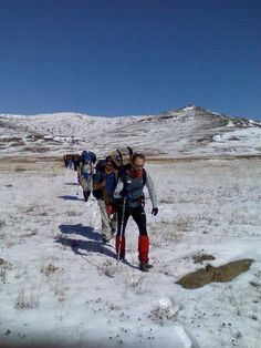 Hiking in Lesotho - be sure to pack all the right things as the weather can change overnight.
