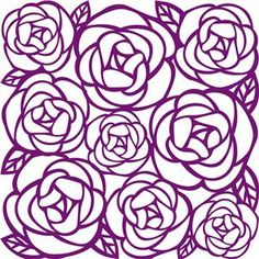 Image result for how to make rose lace on cameo silhouette