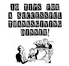 The Stay At Home Chef: Tips for a Successful Thanksgiving + Recipes