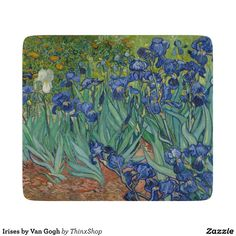 Irises by Van Gogh Cutting Board - Gift Idea