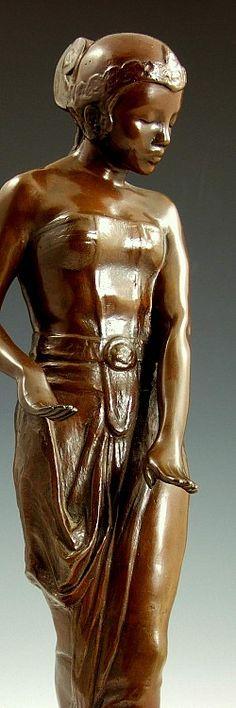statuette femme nu en argento 800 modèle photos amatrice nue