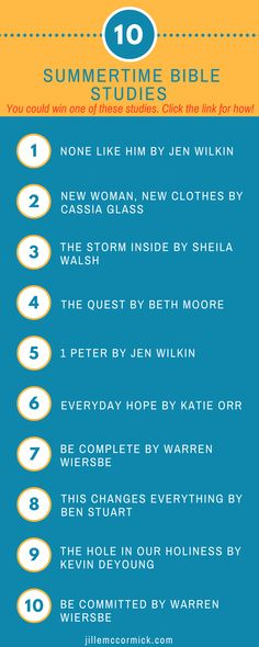 You could win one (1) of these 10 books by commenting on the blog post. You have until Friday, May 25, 2018 at 9 p.m. CST to comment. One comment-er will be selected at random. The winner will be notified via email. And go!