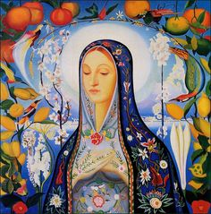 """Mother Teresa said: """"If you ever feel distressed during your day - call upon Our Lady - just say this simple prayer: 'Mary of Jesus, please be a mother to me now'."""