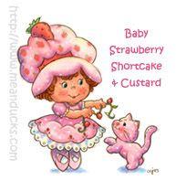 Baby Strawberry Shortcake & Custard