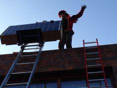 Solarpiet in Deventer met verhuislift van #Workx