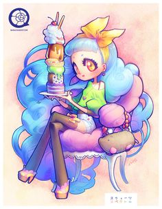 130112 sweets by *bara-chan on deviantART