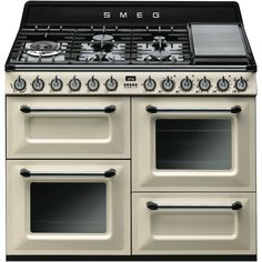 Smeg TRA4110P 110cm Victoria Dual Fuel Cooker at The Good Guys