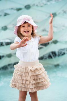 Summer hat - JAMIKS Girls Dresses, Flower Girl Dresses, Summer Design, Kids Hats, Summer Hats, Spring Summer 2016, Kids Fashion, Ballet Skirt, Wedding Dresses