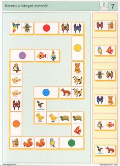 visuele discriminatie voor kleuters / preschool visual discrimination Printable Preschool Worksheets, Preschool Games, Kindergarten Activities, Learning Activities, Kids Learning, Activities For Kids, Body Parts Preschool, Math Patterns, Dyslexia