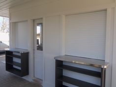 Another project by All-Rite and Harmony.  This was the 3rd set of roll shutters installed by this customer.