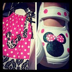 Minnie Mouse Briyanna's 2nd Birthday Party    CatchMyParty.com