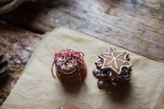 Christmas cookies – gingerbread stars