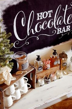 Pen N' Paper Flowers: STYLING   Hot Chocolate Bar