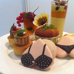 Fun assortment of mini desserts and cookies