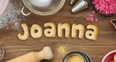 Cookies Letters: Joanna