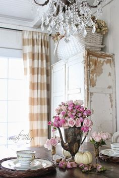 FRENCH COUNTRY COTTAGE: Tarnished patina