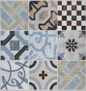 Cementina Colours Mix Floor Tile 200 X 200