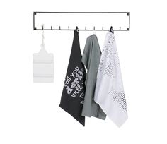 Woood Meert Wardrobe Metal Black with 10 hooks Wall Mounted Coat Rack, Coat Hooks, Crochet Metal, Crochet Design, Storage Hooks, Structure Metal, Childrens Room Decor, Small Furniture, Kids Store