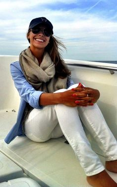 on the boat
