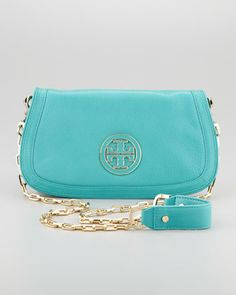 Tiffany blue tory burch bag <3