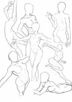 pose mẫu vẽ trong 2019 art sketches, art reference v Body Reference Drawing, Drawing Reference Poses, Drawing Female Body, Anatomy Reference, Anatomy Drawing, Anatomy Art, Poses References, Art Poses, Drawing Base