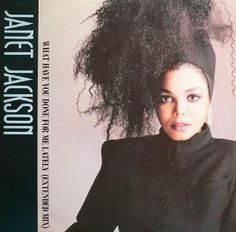 """Janet Jackson - """"What Have You Done For Me Lately"""" (1986) Extended 12"""